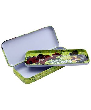 Ben 10 Pencil Box Green