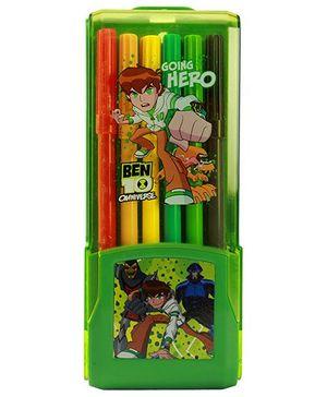Ben 10 Omniverse Colour Pen Green - 12 Piece