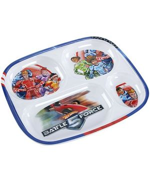 Hotwheels Battle 5 Force Section Plate - Multi Color