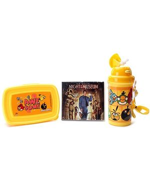 Angry Birds Lunch Box Kit - Yellow