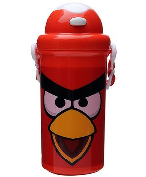 Angry Birds Red Sipper Water Bottle - 500 ml