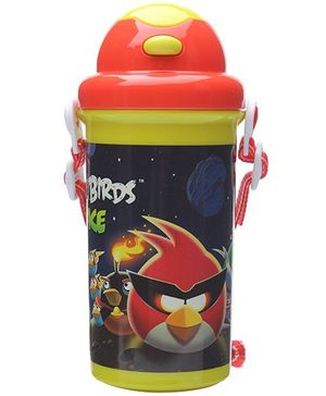 Angry Birds Navy Blue Sipper Water Bottle - 500 ml