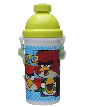 Angry Bird Classic Blue Sipper Water Bottle - 500 ml