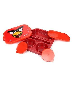 Angry Birds Red Classic Big Lunch Box - Red