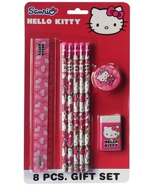 Hello Kitty Stationery Set - Set of 8 pieces