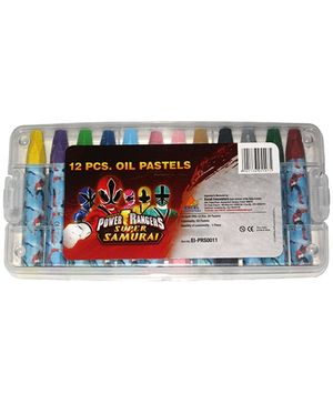 Power Ranger Oil Pastels - Set of 12
