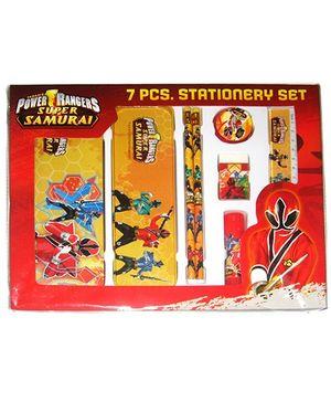 Power Rangers Super Samurai Stationery Set Design 1 - 7 Pieces