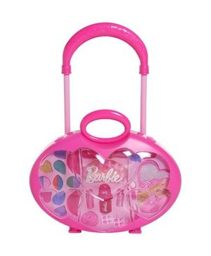 Barbie - Make Up Kit With Trolley