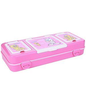 Pratap Hy Pocket Big Compass Box - Pink