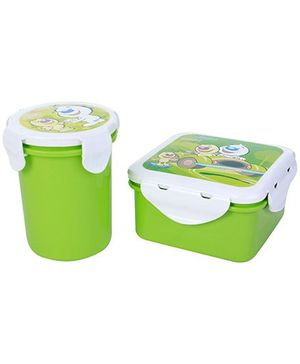 Pratap Hyper Locked Gift Set Junior - Green