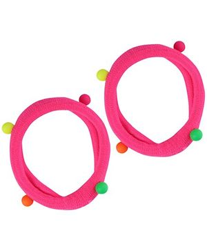 Stol'n Pink Rubber Band - Set Of Two
