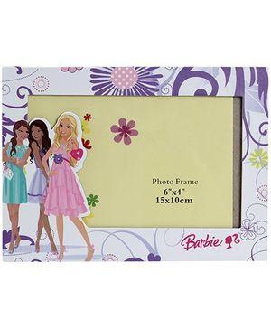 Barbie Flower Design Purple Photo Frame