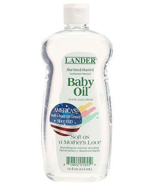 Lander Baby Oil with Vitamin E and Aloe Vera - 14 Oz