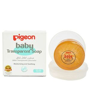 Pigeon Baby Transparent Soap With Case - 80 gram