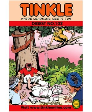 Tinkle Digest No 102 - English