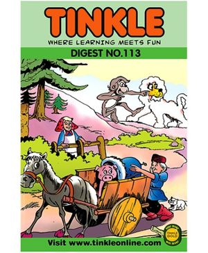 Tinkle Digest No 113 - English