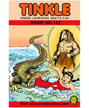 Tinkle Digest No 122 - English