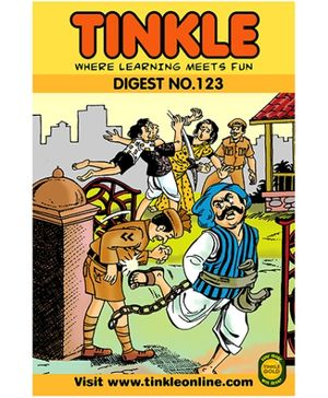 Tinkle Digest No 123 - English