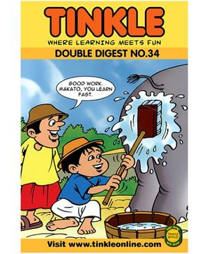 Tinkle Double Digest No. 34 - English