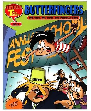 Tinkle Tall Tales - Butterfingers