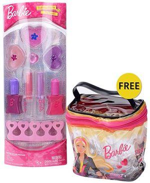 Barbie Dress Up And Make Up Set
