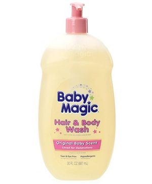 Baby Magic Original Baby Scent Hair and Body Wash - 887 ml