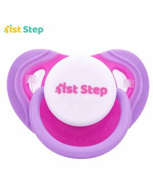 1st Step Pacifier - Pink