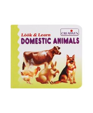 Creative' s - Look & Learn Domestic Animals