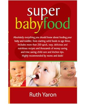 Pegasus Super Baby Food Book - English