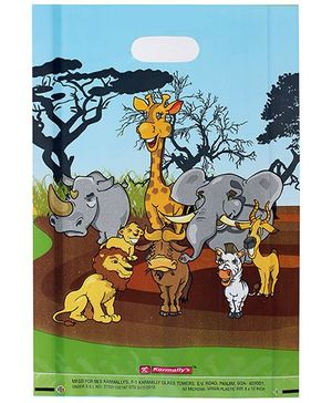 Karmallys Printed Happy Birthday Bag- Multicolored