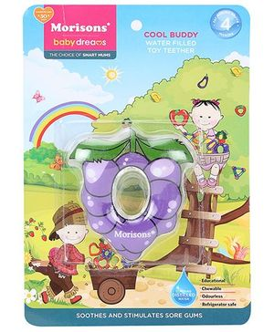 Morisons Baby Dreams Water Filled Toy Teether - Grape Shape