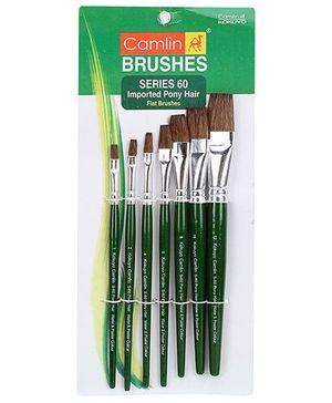 Camlin Paint Brush Set- Pack of 7