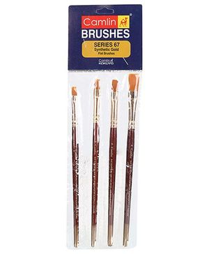 Camlin Paint Brush Set- Pack of 4