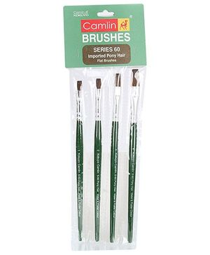 Camlin Paint Brush Set- Pack of 4