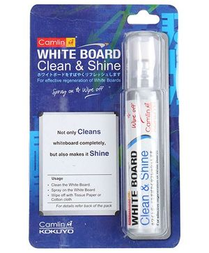 Camlin White Board Clean and Shine - Clean and Wipe Off