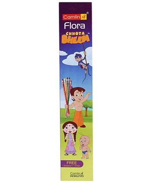 Camlin Flora NRT Chota Bheem Pencil Set  - Pack of 10