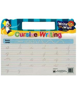 Macaw Cursive Writing Board - English