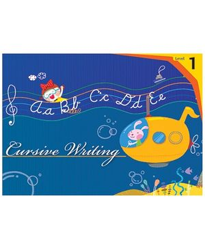 Macaw Cursive Writing Book 1 - English