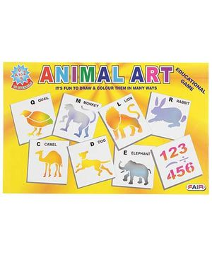 Fair Ind Animal Stencils Set