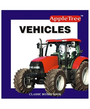 Apple Tree Board Book- Vehicles