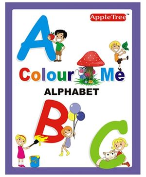 Apple Tree Colour Me- Alphabet