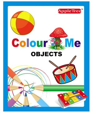 Apple Tree Colour Me- Objects