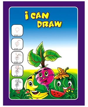 Apple Tree I Can Draw- Fruits and Vegetables