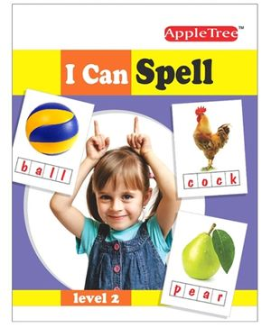 Apple Tree I Can Spell Level 2 Book - English