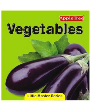 Apple Tree Little Master Collection Vegetables- English