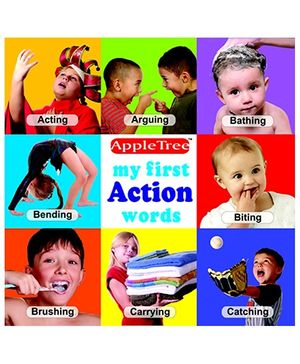 Apple Tree Picture Book Action Words- English