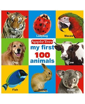 Apple Tree Picture Book Animals- English