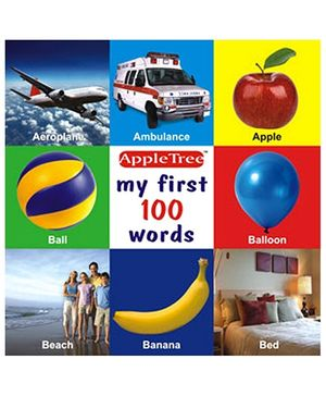 Apple Tree Picture Book My First 100 Words- English