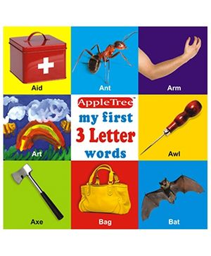 Apple Tree Picture Book My First 3 Letter Words- English