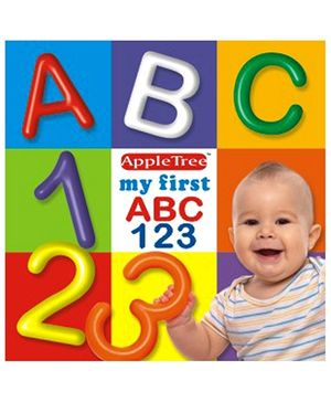 Apple Tree Picture Book My First ABC 123- English